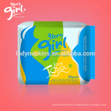 Fashionable Top Quality Glory Girl American Sanitary Napkin Brand Suppliers